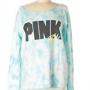 PINK Victoria's Secret Tops - Pink Victoria Secret, Slouchy Sweatshirt
